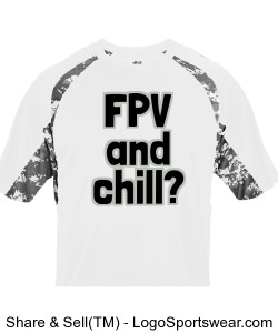 FPV and Chill? White Camo Design Zoom